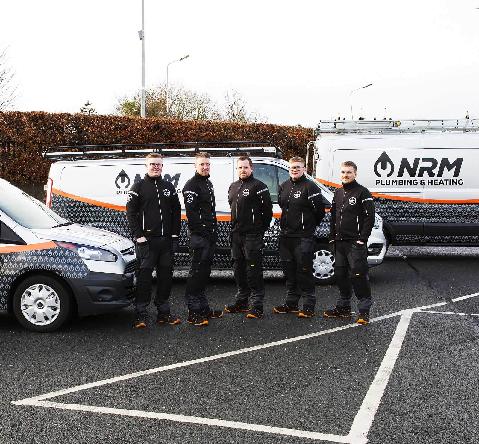 NRM-Heating-and-Dublin-Plumbing-Services Team Photo